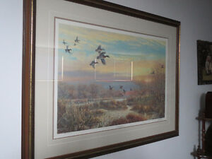 DUCKS UNLIMITED WETLANDS NUMBERED PRINT