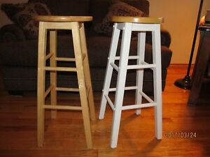 Two Wooden stools $10 each