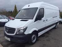 2014 (64) MERCEDES SPRINTER 313 CDI LWB, WHITE, MANUAL, DIESEL, 2014