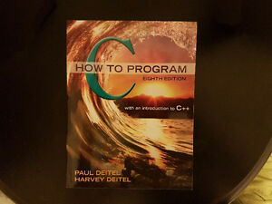 C How to program Eight Edition (8th Ed)