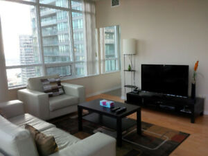August: Spacious furnished 2 Bedrooms downtown next to Union