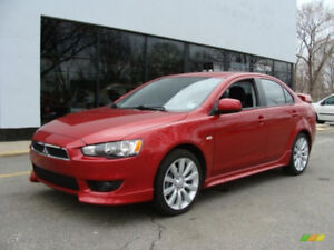2008 - 2014 Mitsubishi Lancer Part Out (For Parts)