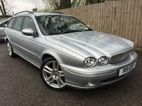 2007 07 Jaguar X-TYPE 2.2D S ESTATE 155 BHP 6 SPEED 48k 57.7 MPG P/X