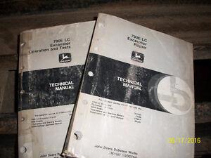 Repair manual for John deere 790E-LC or Hitachi EX200-2