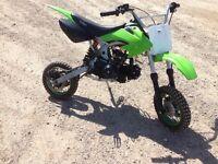 110cc kids dirt bike