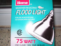 2 FLOOD LIGHTS(75W)-NEW!