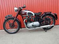 TRIUMPH 5T SPEED TWIN 1947 498cc