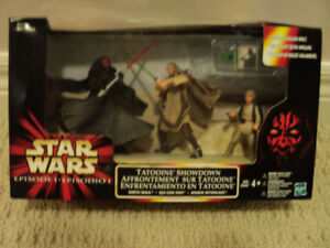 Star Wars 3 figure set Tatooine Showdown w/Darth Maul *NEW INBOX