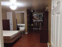 A spacious room in 2 rooms basement rent at 3690 Morning Star