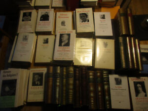 50 livres & albums Pléiade Zola Balzac Hugo Casanova Philo