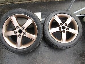 summer tires + mags 16 inch 5x114.3 West Island Greater Montréal image 1