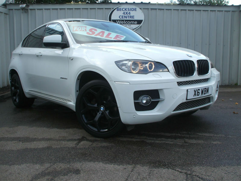 2010 60 reg bmw x6 3 0td 245bhp 4x4 auto xdrive30d white in bradford west yorkshire gumtree. Black Bedroom Furniture Sets. Home Design Ideas
