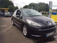 Peogeut 207 , 1.4 petrol LOW MILES, 42,000 ONLY