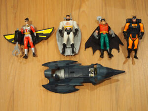 Batman The Animated Series Kenner Robin Figures Toys