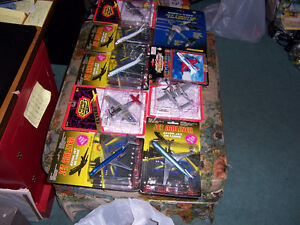 FOR SALE A LARGE FLEET OF TOY AIRPLANES SMALL &BIG,