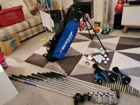 Adult 9 club Dunlop DDH golf set