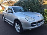 PORSCHE CAYENNE S 2003 Petrol Automatic in Silver