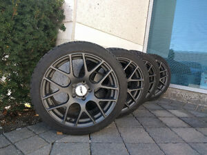 GREAT CONDITION WINTER TIRES AND RIMS FOR MERCEDES