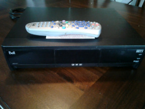 Bell hdtv satellite pvr and dish