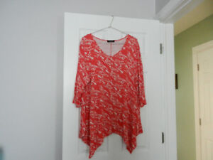 Womens various size 3x tops