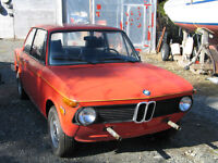 1974 BMW 2002 tii LAST CHANCE BEFORE STORAGE