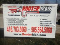 ROOTER-MAN EXPERT PLUMBERS CALL NOW! (416) 703-5060