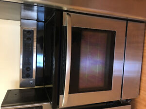 """Almost new Lg stainless steel 30"""" electric stove range oven"""