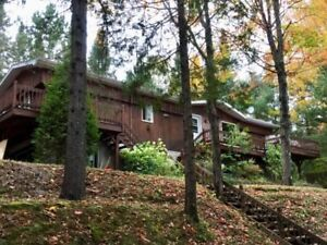 Beautiful Waterfront Cottage in the heart of the Laurentians