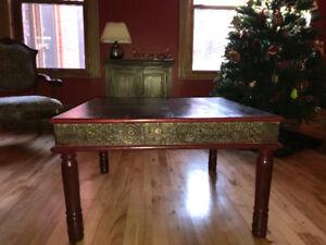 Table à café, bois massif