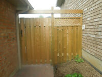 Need a Fence or paved sidewalk?