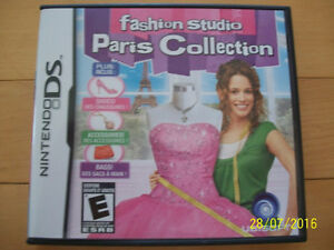 Fashion Studio - Paris Collection for Sale (DS Game)