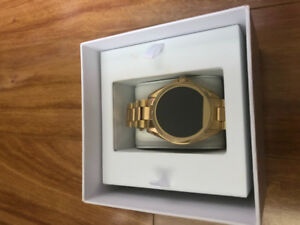 New Michael Kors Gold Tone Access Smart Watch