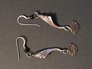 Earrings - Harley Davidson 10k gold