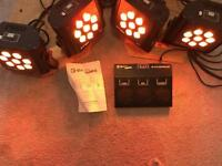 LED Par Cans (band and disco lighting)