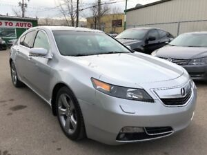 2012 Acura TL SH-AWD Tech Sedan - Nav, camera, leather, roof
