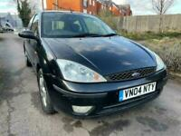 2004 BLACK FORD FOCUS 1.6 MANUAL PETROL 3DR LOOKED AFTER BARGAIN BUY