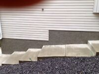 STUCCO AND FOUNDATION PARGING