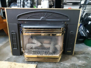 Heritage natural gas fireplace 33000 btu