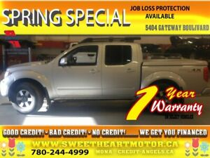 2009 Nissan Frontier 4WD Crew Cab *PLUS or  $800 GAS CARD*