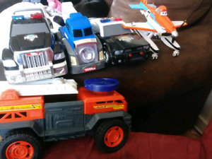 Tonka trucks and others