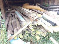 Free cladding / firewood