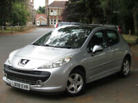 Peugeot 207 1.4 VTi 95 Sport**PETROL**LOW MILEAGE - 44K**PANORAMIC ROOF**PSH**