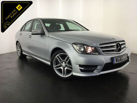 2013 63 MERCEDES-BENZ C200 AMG SPORT CDI DIESEL 1 OWNER FINANCE PX WELCOME