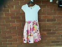 Girls Ted Baker dress age 9 perfect condition