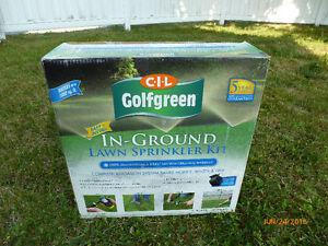 Inground Lawn Sprinkler kit