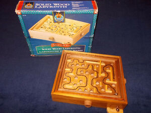 Deluxe Solid Wood Labyrinth