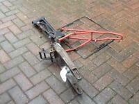 Pit bike frame