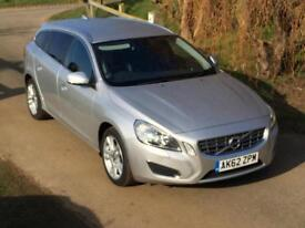 Volvo V60 1.6D DRIVe ( 115bhp ) ( s/s ) 2012MY SE Lux manual Silver