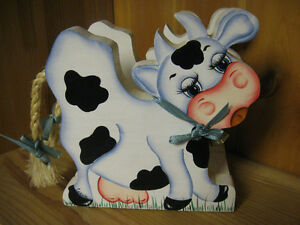 Adorable Cow Bill/Napkin Holder