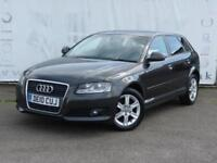 2010 AUDI A3 1.6 TDI SE 5 DOOR SERVICE HISTORY INCLUDING TIMING BELT AND WATER P